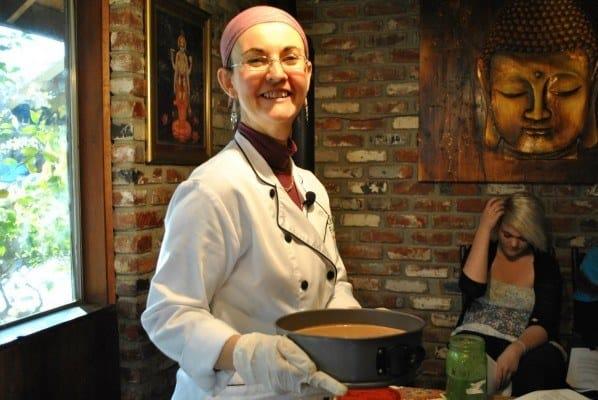 Margaret Gomes Raw Food Chef Live Food Academy