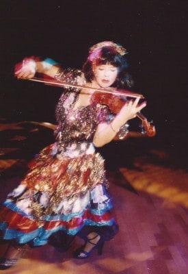 julliena okah violin virtuoso